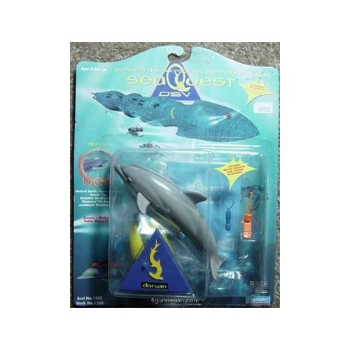 "SeaQuest DSV Action Figure ""Darwin"" the Dolphin"