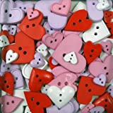 Blumenthal Lansing Company Favorite Findings 3-1/2-Ounce Big Bag of Buttons, Hearts