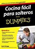 Cocina f�cil para solteros para Dummies