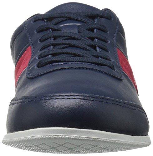 Lacoste Men's Embrun 316 1 Cam Fashion Sneaker, Navy, 8 M US