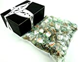 Béghin Say La Perruche Individually Wrapped Rough Cut Brown & White Sugar Cubes, 3 lb Bag in a Gift Box
