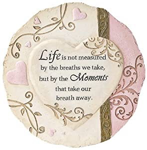 Ganz Heart Stepping Stone, Life is Not Measured (Discontinued by Manufacturer)