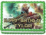 Call of Duty 1/4 Sheet Edible Photo Birthday Cake Topper. ~ Personalized!