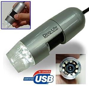 Dino-Lite Digital Microscope (USB2.0) 10x~200x Magnification