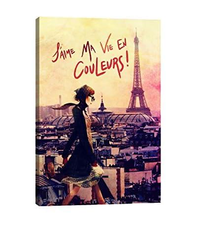 Guy Jinn Parisian Walk Giclée on Canvas