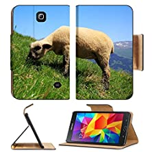 buy Samsung Galaxy Tab 4 7.0 Inch Flip Pu Leather Wallet Case Alpine Sheep In The Swiss Mountains Image 34782458 By Msd Customized Premium