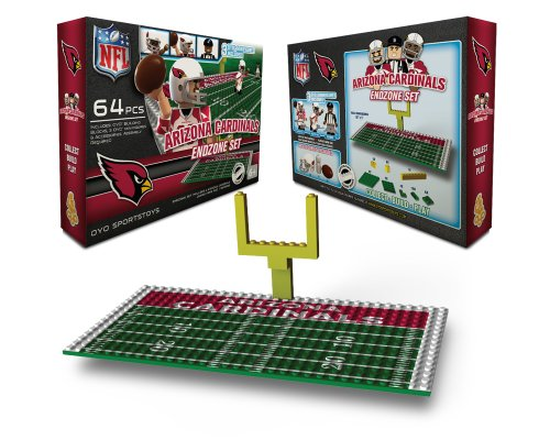 NFL Arizona Cardinals Endzone Toy Set