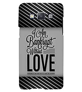 PRINTVISA Quotes Love Case Cover for Samsung Galaxy A5