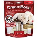 DreamBone Chicken Dog Chew, Large, 3-count