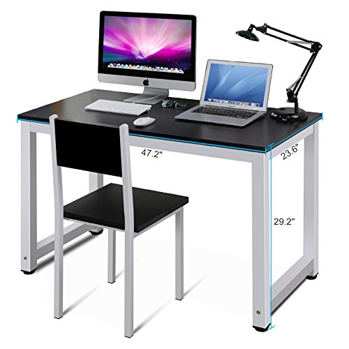 features and specifications tribesigns modern stylish computer desk