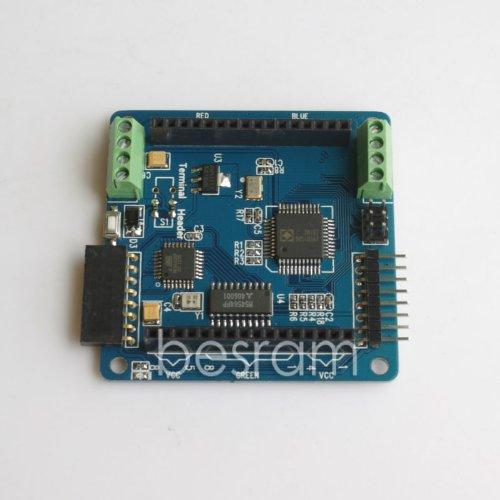 Shanhai Arduino Rgb Led Lighting Shield Colorduino For 8 8Mm Atmega328P Uart Iic Isp