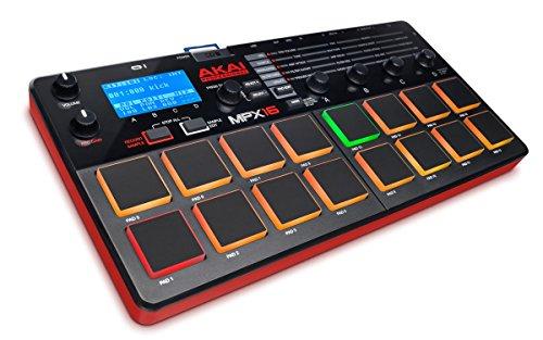 Akai Professional MPX16, Campionatore, Controller MIDI USB e Lettore Campioni da Scheda SD + Software