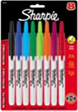 Sharpie Retractable Permanent Marker, Fine Tip, Assorted, 8/Set SAN32730