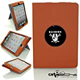 New SLEEP SMART Apple iPad Mini & iPad Mini with Retina leather Case By Calaboy- Interchangeable Design - Personalized Picture Frame w Oakland Raiders Logo (FB1) at Amazon.com
