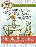 img - for Simple Blessings: Coloring Designs to Encourage Your Heart book / textbook / text book