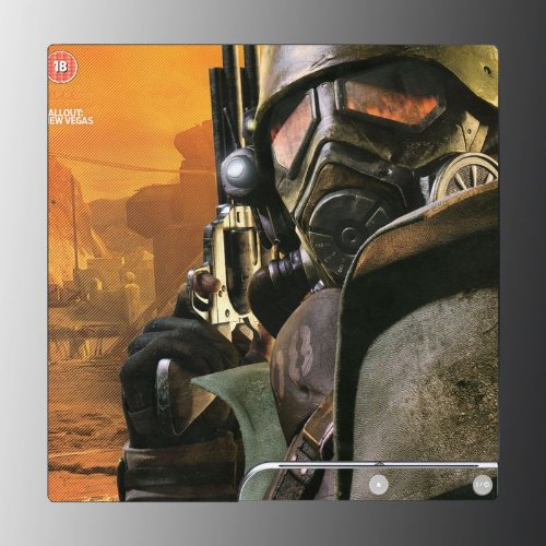 Fallout New Vegas RPG game Vinyl Decal Skin Protector Cover #3 for Sony Playstation PS3 Slim