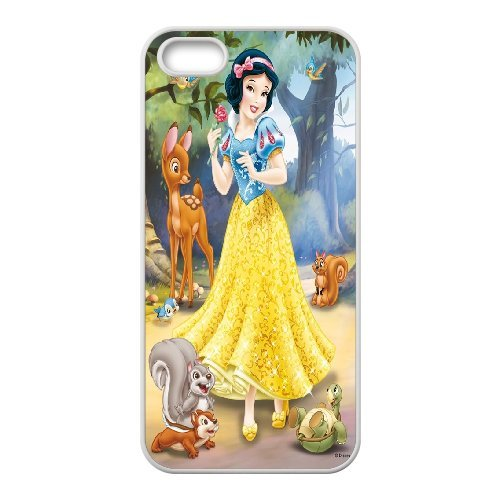 FOR Apple Iphone 5 5S Cases -(DXJ PHONE CASE)-Princess Snow White-PATTERN 16