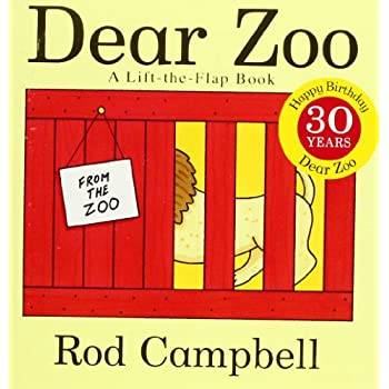 Set A Shopping Price Drop Alert For Dear Zoo: A Lift-the-Flap Book
