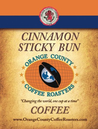 Cinnamon Sticky Bun - 12oz - Whole Bean cinnamon orange spice tea loose leaf black tea with cinnamon pieces and orange peels 5 pounds
