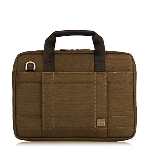 knomo-brixton-lincoln-13-water-resistant-canvas-slim-laptop-briefcase-olive-natural-with-orange-acce