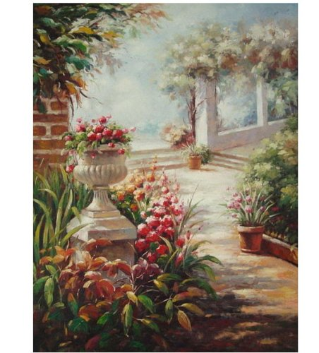 UFashion Decoration Collection Special Canvas Hand Painted Oil Painting-Scenery FJ083