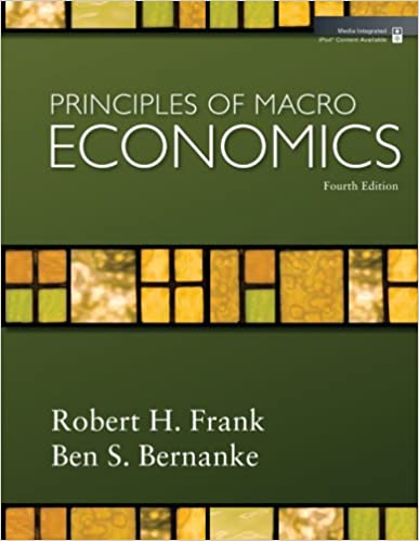 Pdf ebook for Principles of Macroeconomics, Frank, 4th Edition