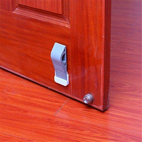 4pcs Premium Door Stopper Set Heavy Duty Door Stop