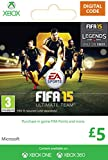 Xbox Live £5 Gift Card: FIFA 15 Ultimate Team [Xbox Live Online Code]