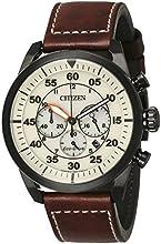 Comprar Citizen-Reloj de pulsera para hombre XL Cronógrafo Cuarzo Piel ca4215-04W
