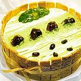 京都二条寺町ジェニアル バースデーケーキ 抹茶(matcha)のケーキ 直径15cm 生ケーキ