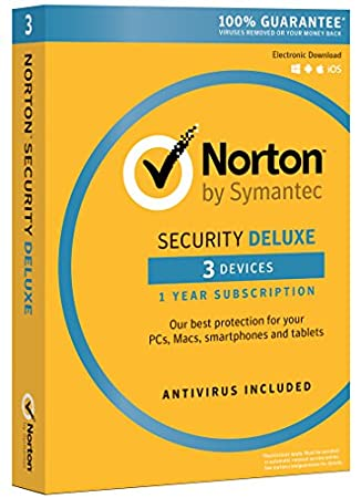 Norton Security Deluxe - 3 Devices | PC/Mac Online Code [Online Code]