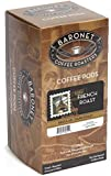 Baronet Coffee French Roast (12 g) Coffee Pods, 16-Count Pods (Pack of 3)