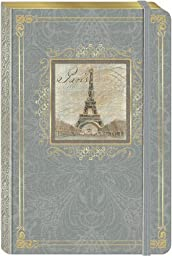 Punch Studios Bungee Journal Vintage Eiffel Tower by Punch Studio