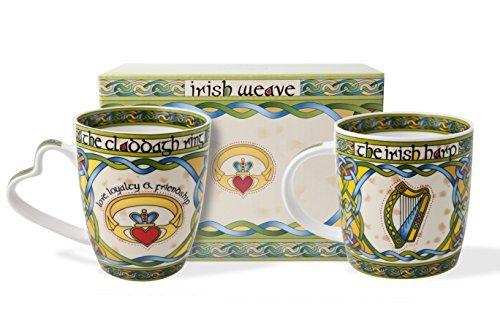 irish-claddagh-and-harp-mug-set-with-gift-box-by-royal-tara