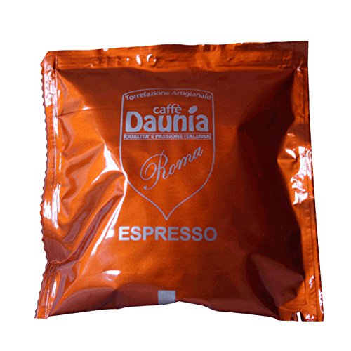 "50 Coffee Pods ESE compatible diameter 44 ""mixture Roma"""