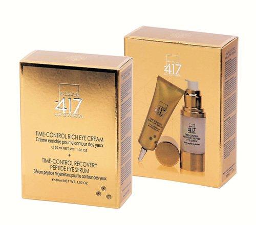 Minus -417 Gold Diamond Kit - Recovery Peptide Eye Serum - Time Control - 30ml | 1.0 Oz. Rich Eye Cream - Time Control - 30ml | 1.0 Oz