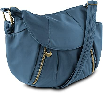 Travelon Anti-Theft Front Zip Hobo Bag