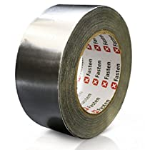 XFasten Professional Aluminum Foil Tape, 2.7 mil, 2 Inches x 55 Yards HVAC Tape