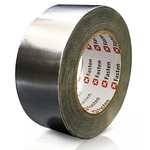 XFasten Professional Aluminum Foil Tape, 2.7 mil, 2 Inches x 55 Yards HVAC Tape (Hvac Tape compare prices)