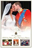 LAMINATED Maxi Poster featuring the Royal Wedding of HRH Prince William and Miss Catherine Middleton, Commemorative Photogaphy Montage 61x91.5cm