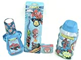 Boys Bath Bundle:4 Items: Spiderman Tooth Brush, Spiderman Mouthwash, Spiderman Bodywash,spiderman Magic Washcloth