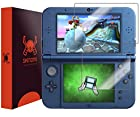 Skinomi® TechSkin - New Nintendo 3DS XL Screen Protector (2015 Version) Premium HD Clear Film with Free Lifetime Replacement Warranty / Ultra High Definition Invisible and Anti-Bubble Crystal Shield - Retail Packaging Compatilble with: Nintendo 3DS LL Japanese Version
