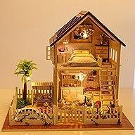 Rylai Wooden Handmade Dollhouse Minia…