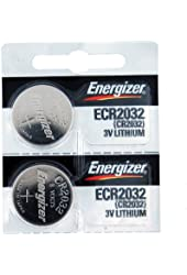Energizer CR2032 Lithium Batteries Pack Of 2
