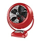 Vornado VFAN Vintage Whole Room Air Circulator, Red