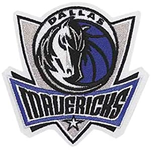 National Emblem Dallas Mavericks Team Logo Patch by National Emblem