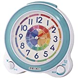 Seiko QHK041L Childrens Alarm Clock, Blue