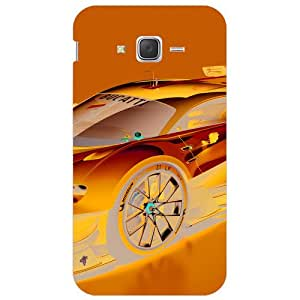 BetaDesign Cars Back Cover, Designer Cover for Samsung Galaxy J7 (Multicolor)