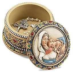 Ave Maria Rosary Box/Pkg 2 by Christian Brands