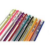 Pack of 10 x TPU Silicone Bumper Case Covers w/ Buttons for Apple iPhone 5C